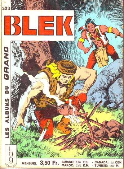 Couverture de Blek (Les albums du Grand) -323- Numéro 323