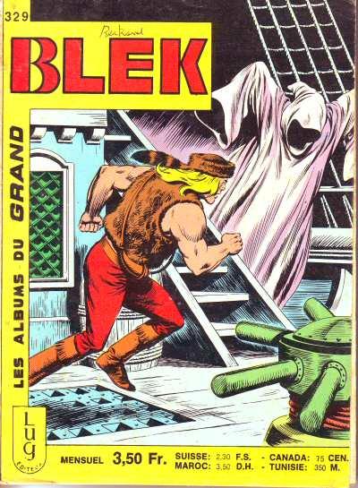 Couverture de Blek (Les albums du Grand) -329- Numéro 329