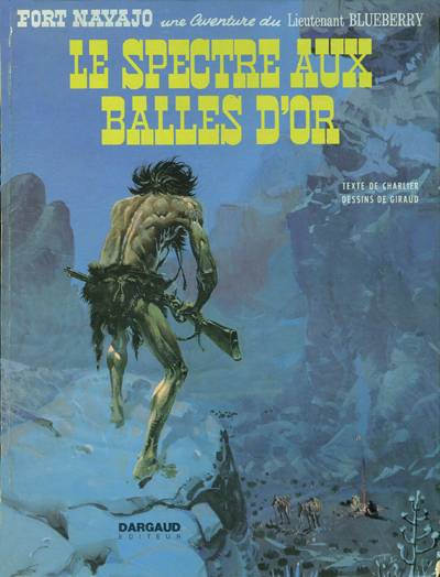 Couverture de Blueberry -12- Le spectre aux balles d'or