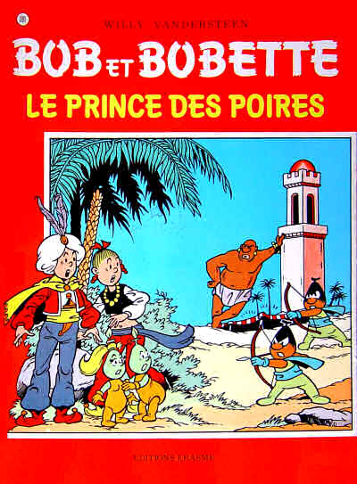 Couverture de Bob et Bobette -181- Le prince des poires