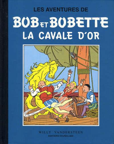Couverture de Bob et Bobette (Collection classique bleue) -8- La cavale d'or