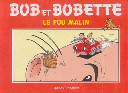 Couverture de Bob et Bobette (Publicitaire) -Pa1- Le pou malin