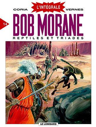 Couverture de Bob Morane 8 (Intégrale Dargaud-Lombard) -14- Reptiles et triades