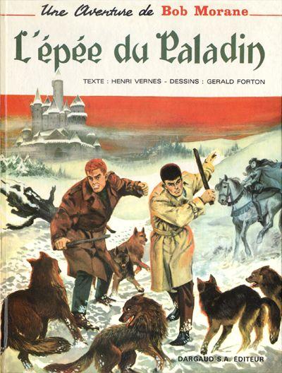 Couverture de Bob Morane 2 (Dargaud) -8- L'épée du Paladin