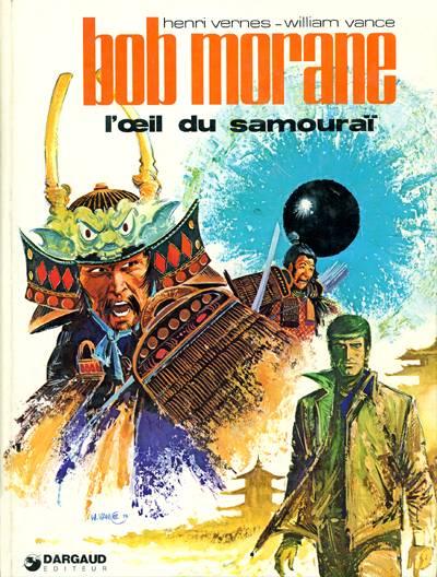 Couverture de Bob Morane 2 (Dargaud) -17- L'œil du samouraï