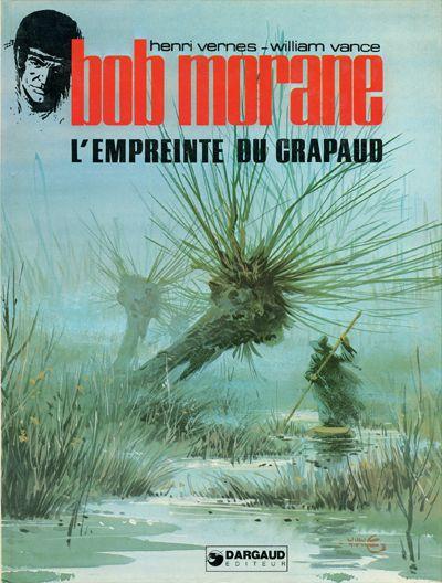 Couverture de Bob Morane 2 (Dargaud) -26- L'empreinte du crapaud