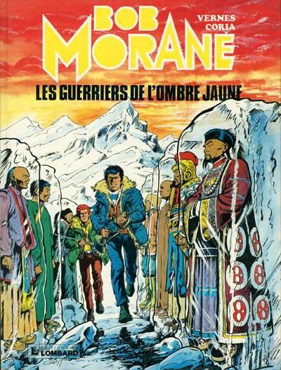 Couverture de Bob Morane 3 (Lombard) -30- Les guerriers de l'ombre jaune