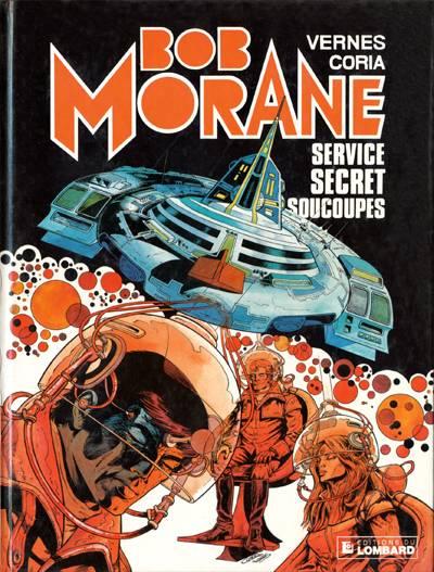 Couverture de Bob Morane 3 (Lombard) -31- Service secret soucoupes