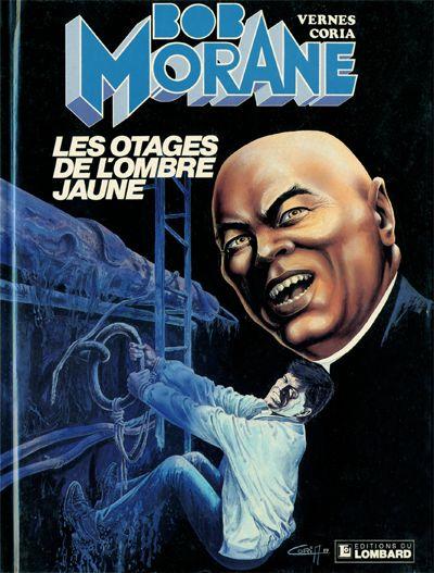 Couverture de Bob Morane 3 (Lombard) -39- Les otages de l'ombre jaune
