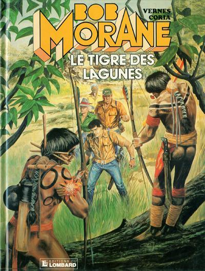 Couverture de Bob Morane 3 (Lombard) -41- Le tigre des lagunes