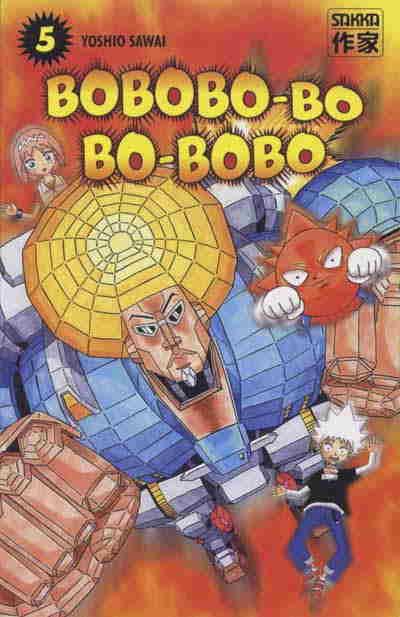 Couverture de Bobobo-bo Bo-bobo -5- Tome 5