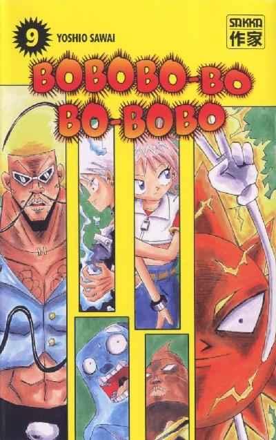 Couverture de Bobobo-bo Bo-bobo -9- Tome 9