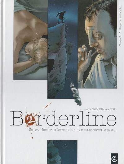 Couverture de Borderline -2- N'oublie pas de me dire adieu