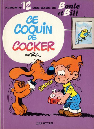 Couverture de Boule et Bill -12- Ce coquin de cocker