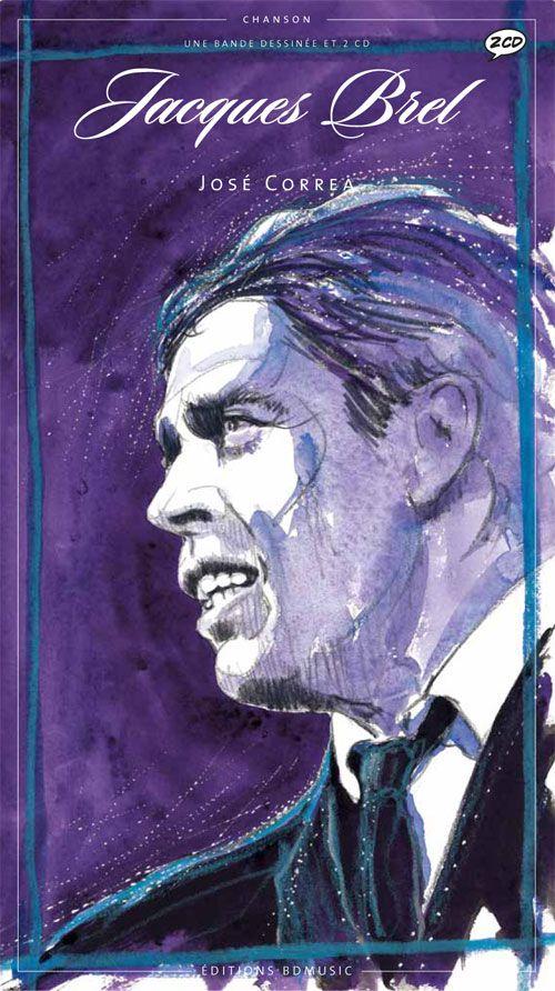 Couverture de BD Chanson -9- Jacques Brel