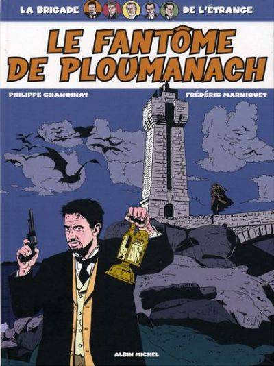 Couverture de La brigade de l'étrange -1- Le fantôme de Ploumanach