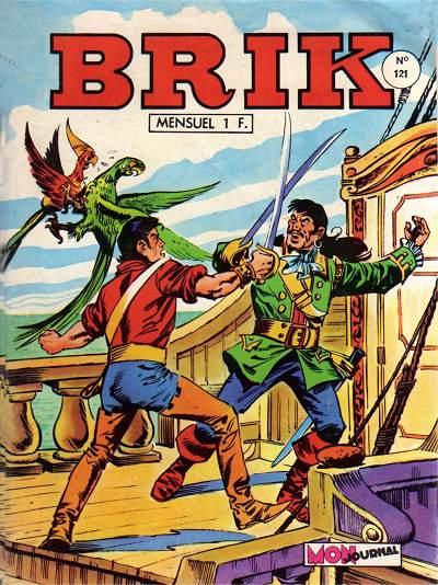 Couverture de Brik (Mon journal) -121- Poursuite dans les îles