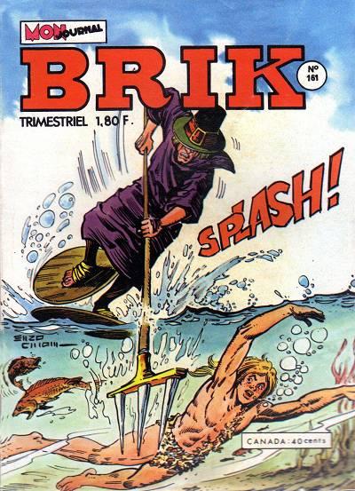 Couverture de Brik (Mon journal) -161- John-Jone