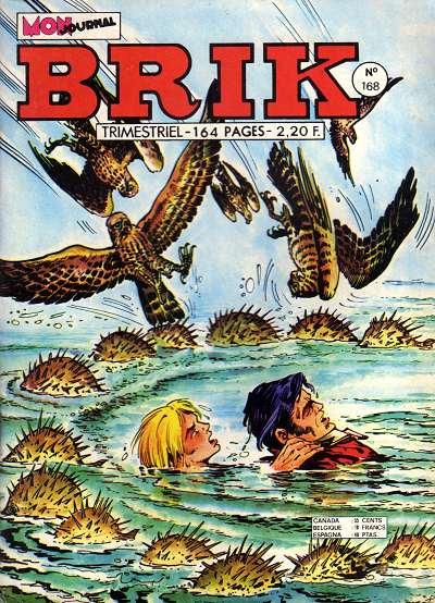 Couverture de Brik (Mon journal) -168- Tombeau à la dérive