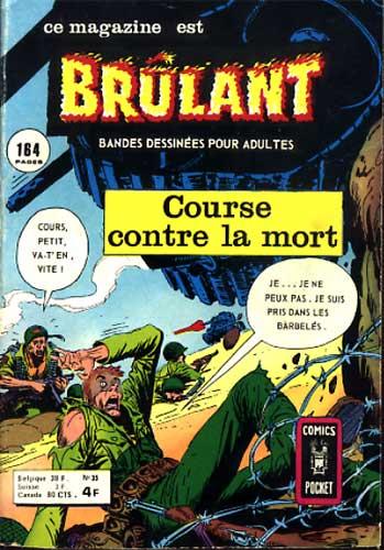 Couverture de Brûlant (1re série) -35- Course contre la mort