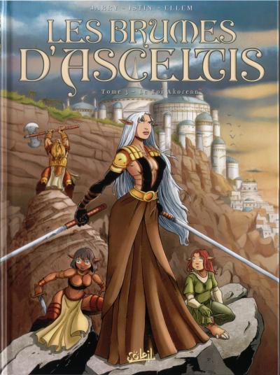 Couverture de Les brumes d'Asceltis -3- Le Roi Akorenn