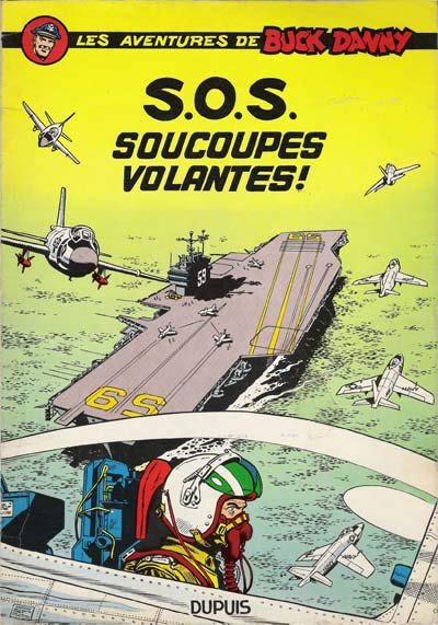 Couverture de Buck Danny -20- S.O.S. soucoupes volantes !