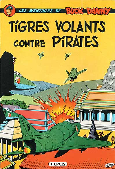Couverture de Buck Danny -28- Tigres volants contre pirates