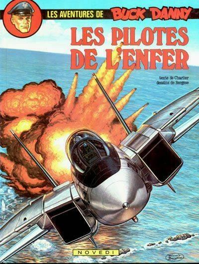 Couverture de Buck Danny -42- Les pilotes de l'enfer