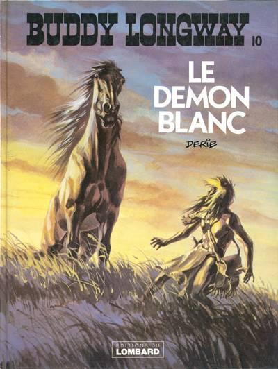 Couverture de Buddy Longway -10- Le démon blanc