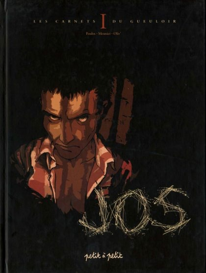 Couverture de Les carnets du gueuloir -1- Jos