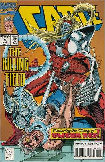 Couverture de Cable (1993) -9- The killing field part 1 : in humanity