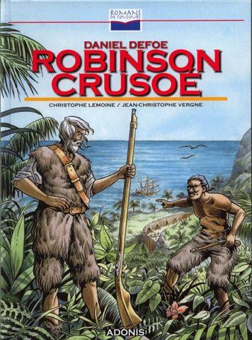Couverture de Romans de toujours - Robinson Crusoé