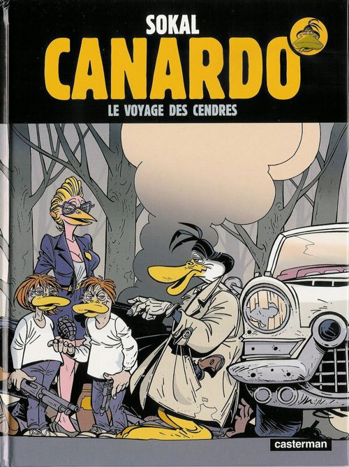 Couverture de Canardo (Une enquête de l'inspecteur) -19- Le Voyage des cendres
