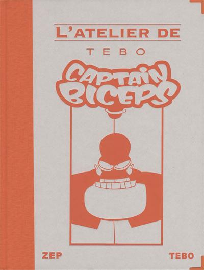 Couverture de Captain Biceps -HS- L'atelier de Tébo