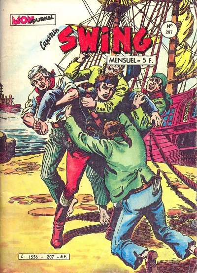 Couverture de Capt'ain Swing! (1re série) -207- L'infernal chantage