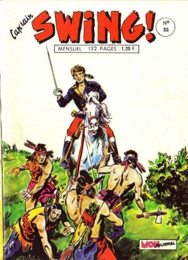 Couverture de Capt'ain Swing! (1re série) -55- Le crâne aux trois étoiles