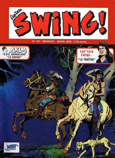 Couverture de Capt'ain Swing! (2e série - Mon Journal) -167- Le traître