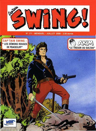 Couverture de Capt'ain Swing! (2e série - Mon Journal) -171- Les démons rouges de Peacecliff
