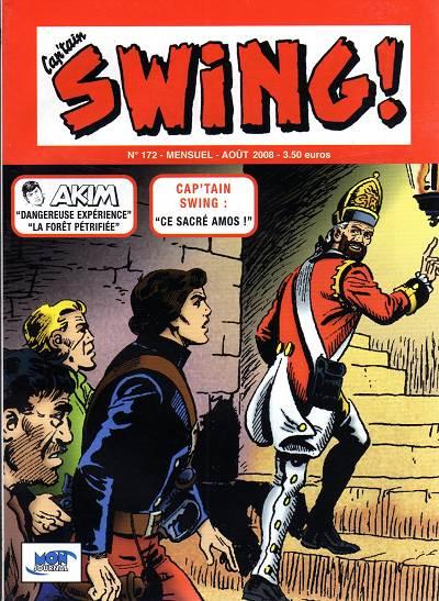 Couverture de Capt'ain Swing! (2e série - Mon Journal) -172- Ce sacré Amos !