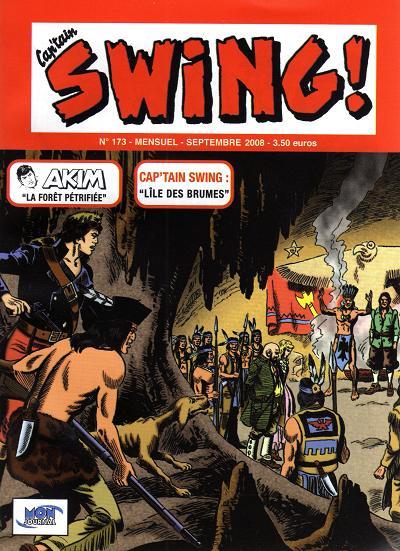 Couverture de Capt'ain Swing! (2e série - Mon Journal) -173- L'île des brumes