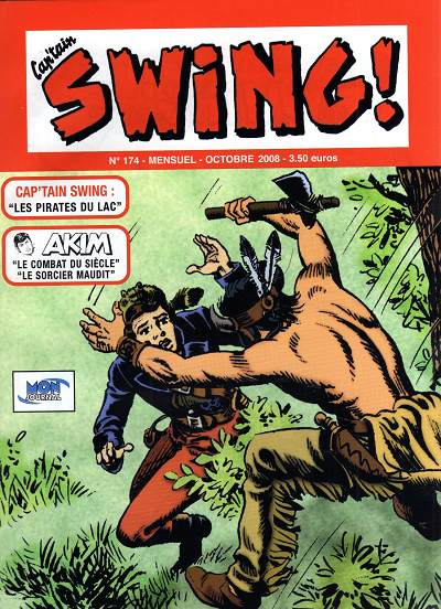 Couverture de Capt'ain Swing! (2e série - Mon Journal) -174- Les pirates du lac