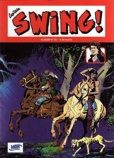 Couverture de Capt'ain Swing! (2e série - Mon Journal) -Rec55- Album N°55 (du n°165 au n°167)