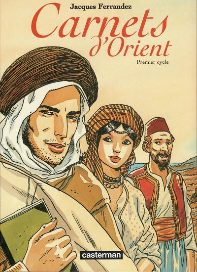 Couverture de Carnets d'Orient -INT1- Premier cycle
