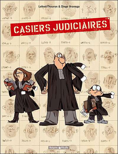 Casiers Judiciaires - 2 tomes