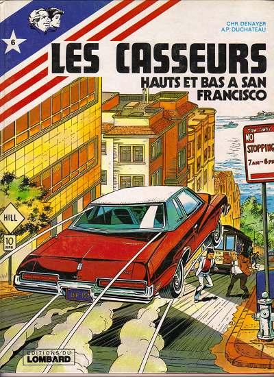 Couverture de Les casseurs - Al & Brock -6- Hauts et bas à San Francisco