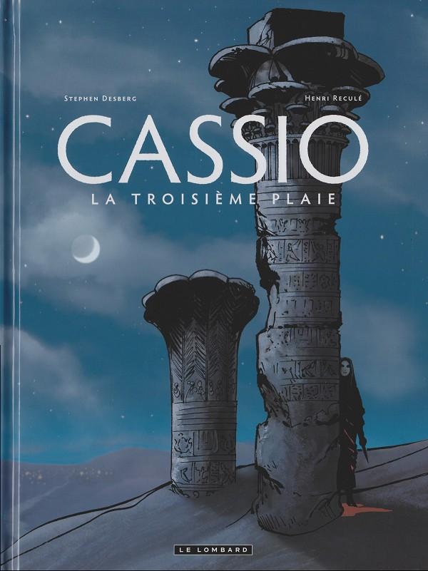Couverture de Cassio -3- La troisième plaie