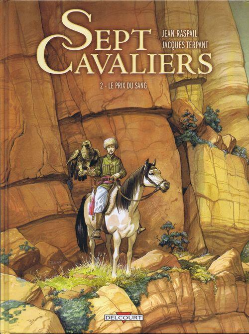 Couverture de Sept Cavaliers - La Saga des Pikkendorff -2- Le prix du sang