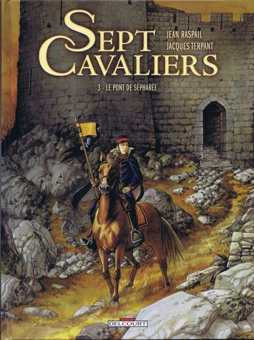 Couverture de Sept Cavaliers - La Saga des Pikkendorff -3- Le pont de Sépharée