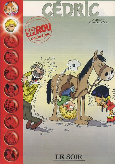Couverture de Cédric -Soir- Cédric - Spirou Collection