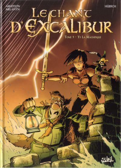 Couverture de Le chant d'Excalibur -5- Ys la magnifique